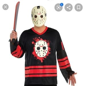 NWOT Jason costume L/XL